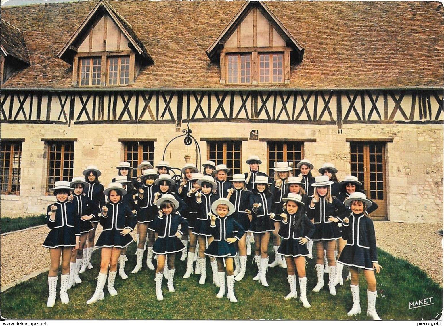 CPA-1965-27-Le VAUDREUIL-LES MAJORETTES/U.F. Et F.N.C.O.P-TBE - Danses