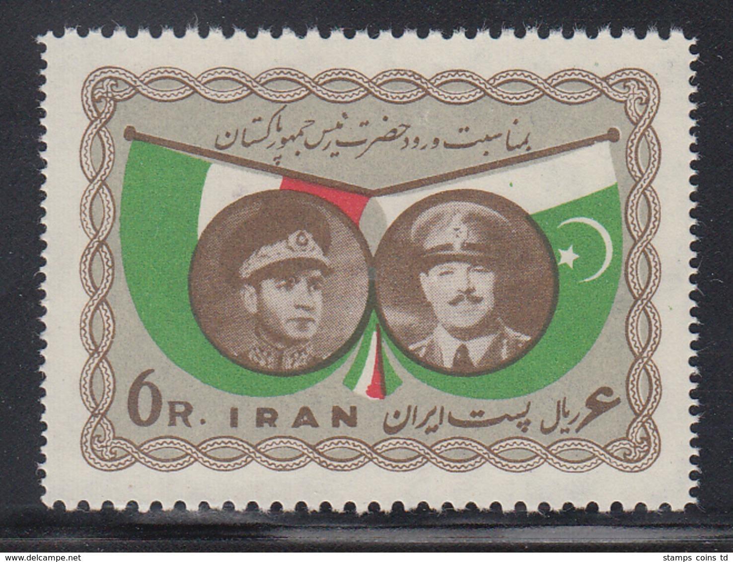 Persien / Iran 1959 Besuch Des Pakistanischen Präsidenten , Mi.-Nr. 1070  **  - Iran