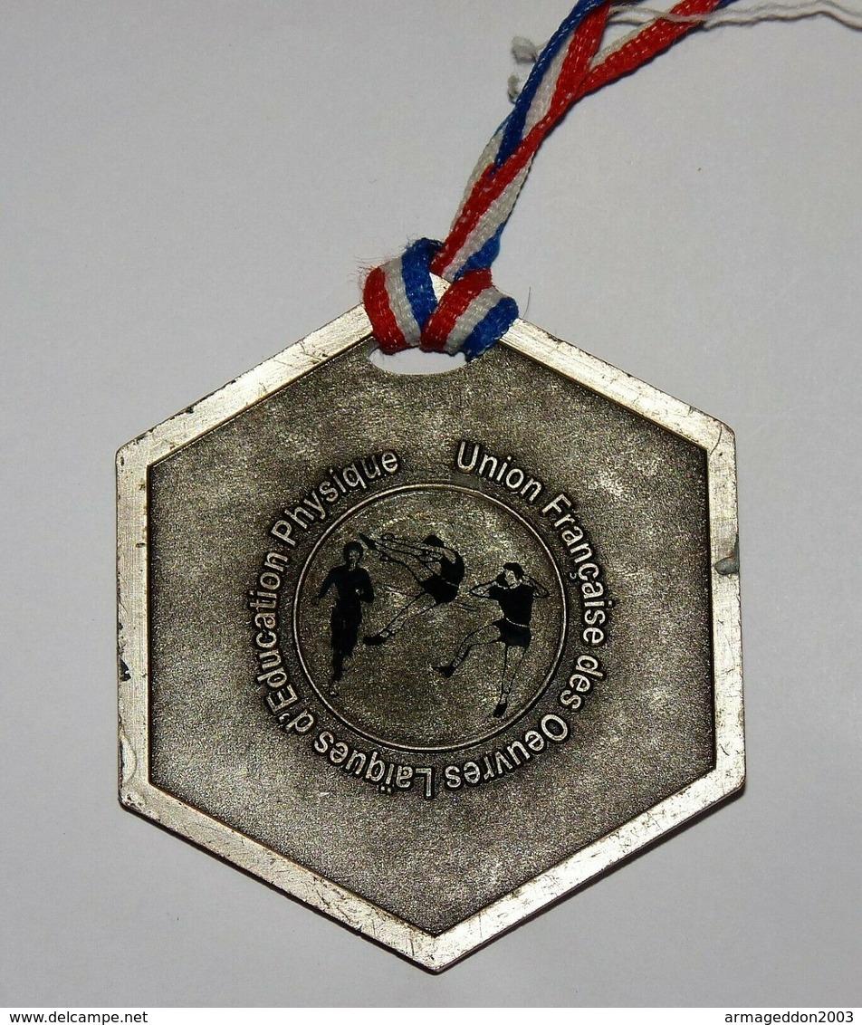 BELLE GROSSE MEDAILLE EDUCATION PHYSIQUE UFOLEP CHAMPIONNAT NATIONAL 5.9 CM - Athlétisme