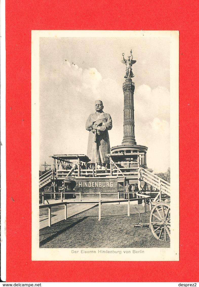 BERLIN Cpa Der Eiserne Hindenburg    5 Ediut Marshall - Deutschland