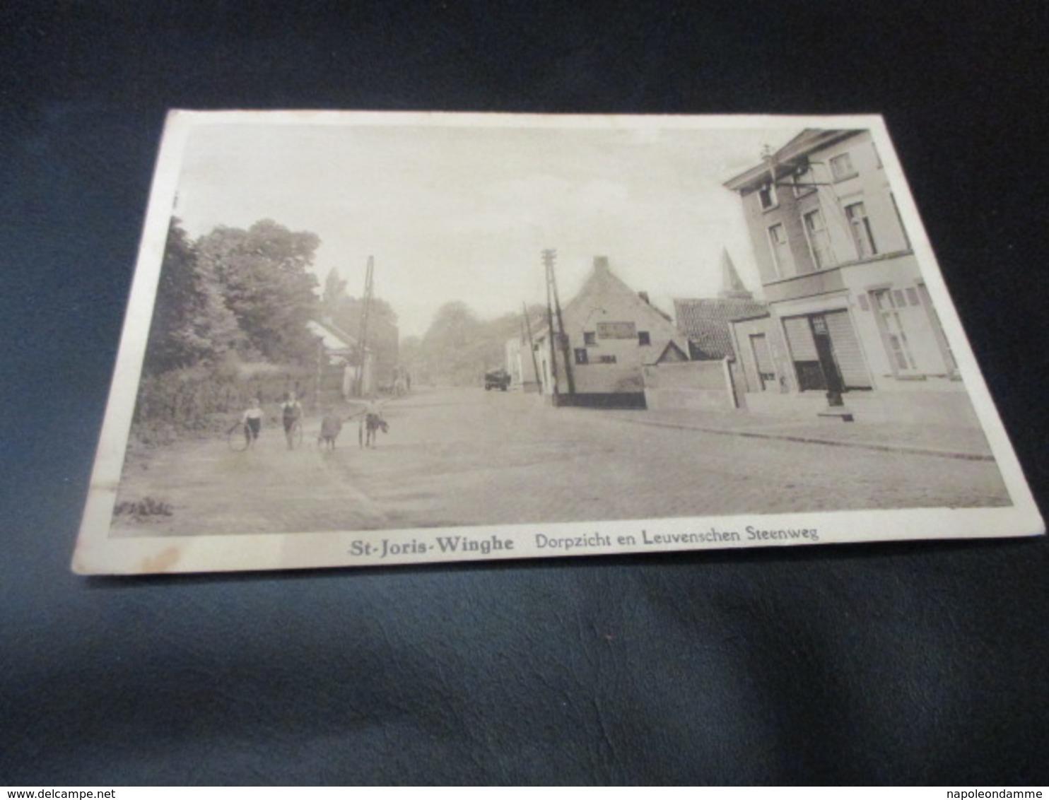 St Joris Winge, Dorpzicht En Leuvensesteenweg - Tielt-Winge