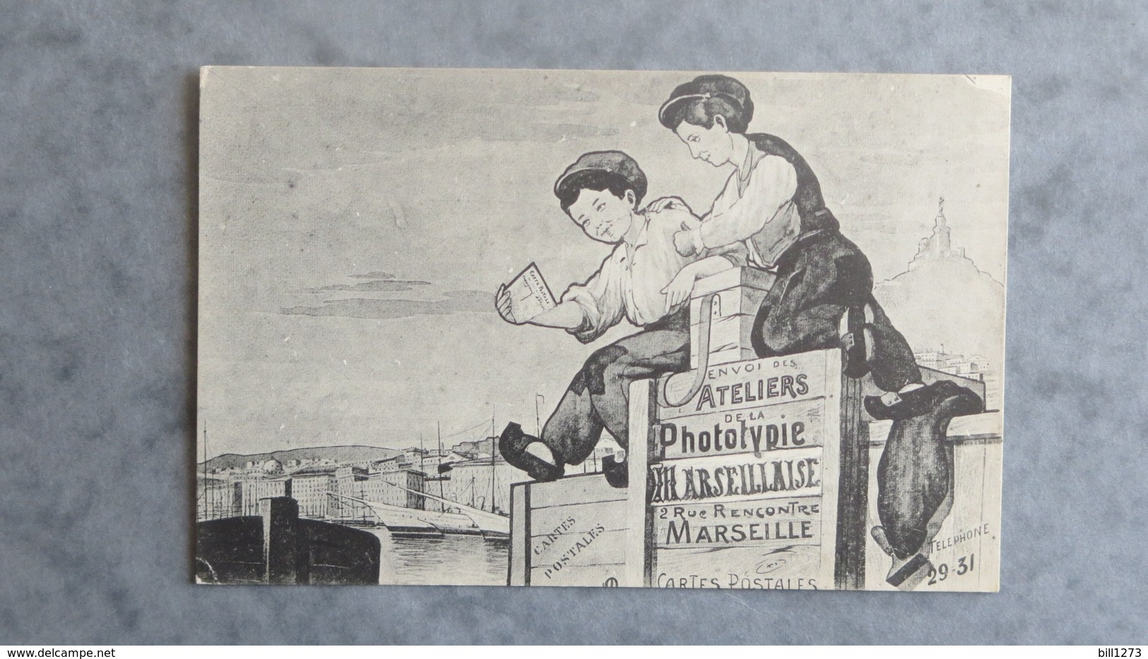 CPA-13-Ateliers De La Phototypie Marseillaise, 2 Rue Rencontre, MARSEILLE-Cartes Postales - Marseilles