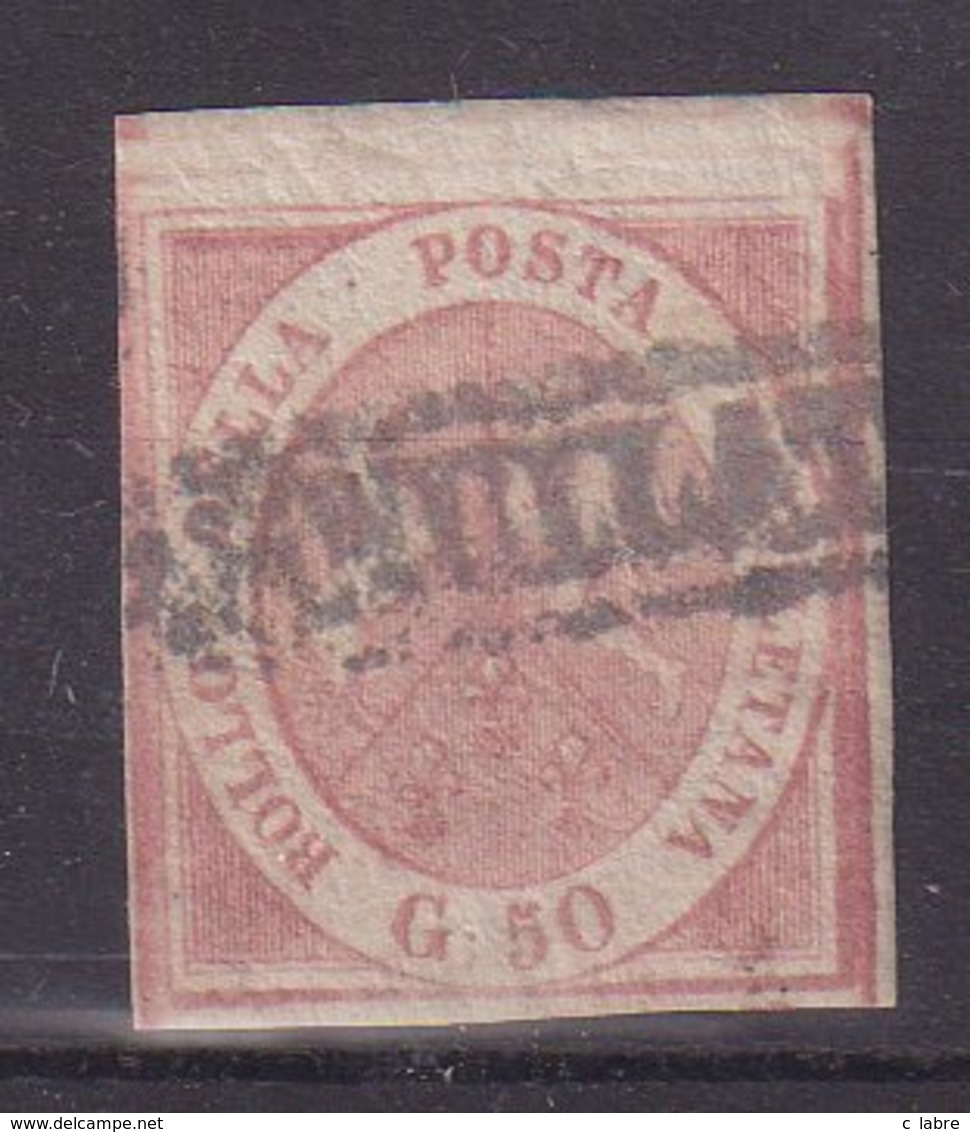 NAPLES : N°7 . OBL . 1858 . TB . - Naples