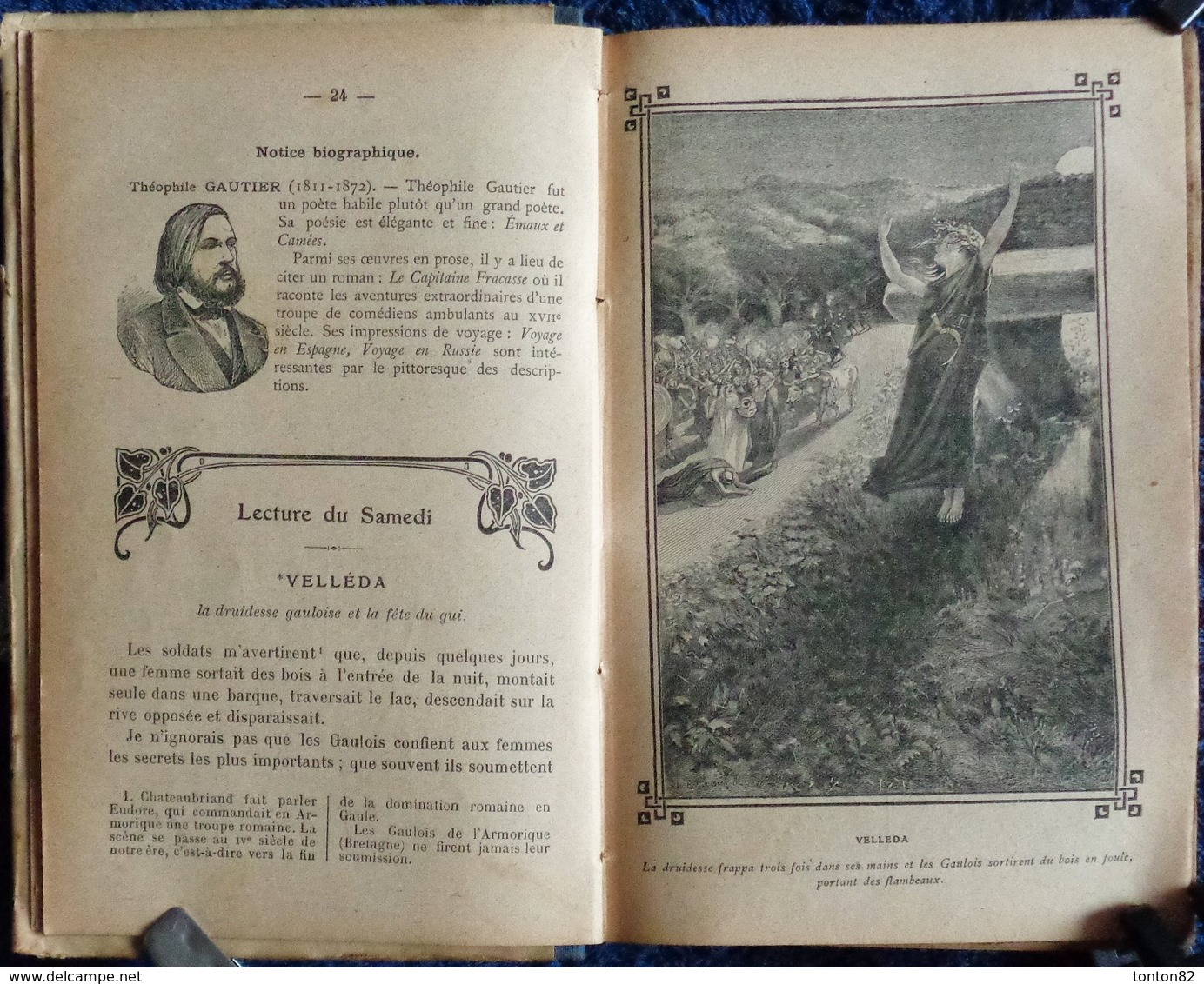 A. Mironneau - Choix De Lectures - Cours Moyen - Librairie Armand Colin - ( 1910 ) . - 6-12 Jahre