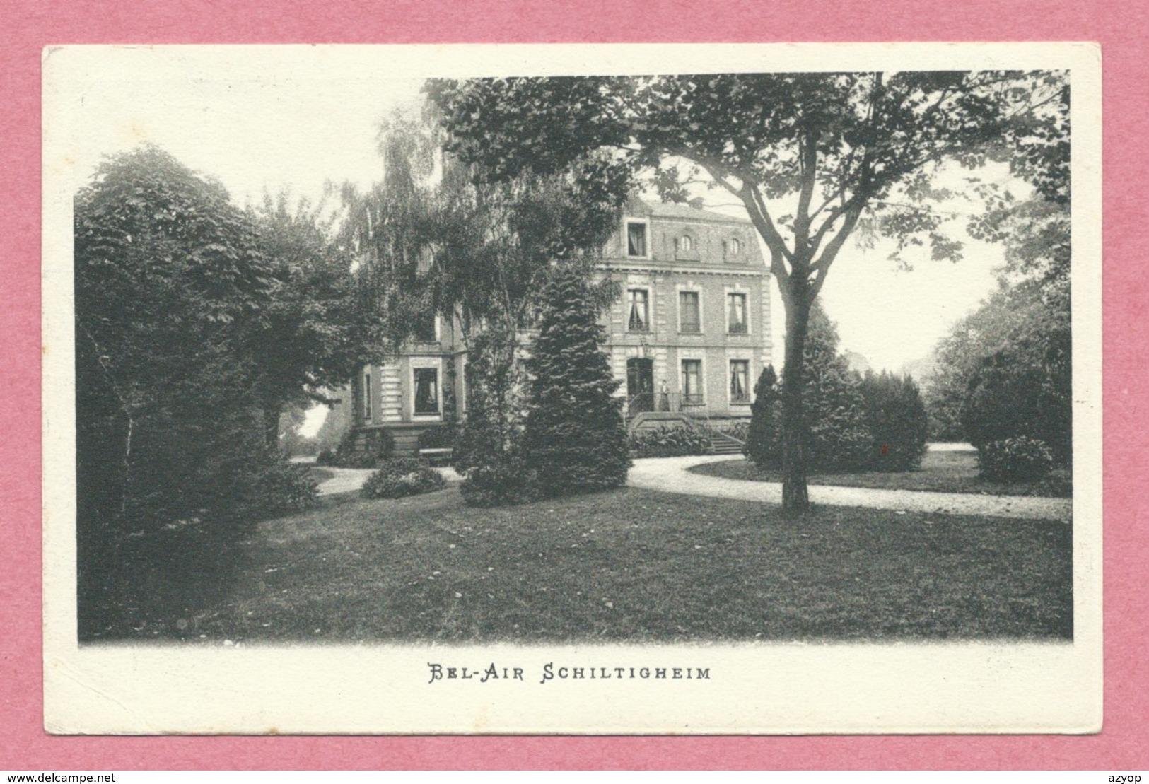 """67 - SCHILTIGHEIM - Villa """" BEL-AIR """" - Schiltigheim"""