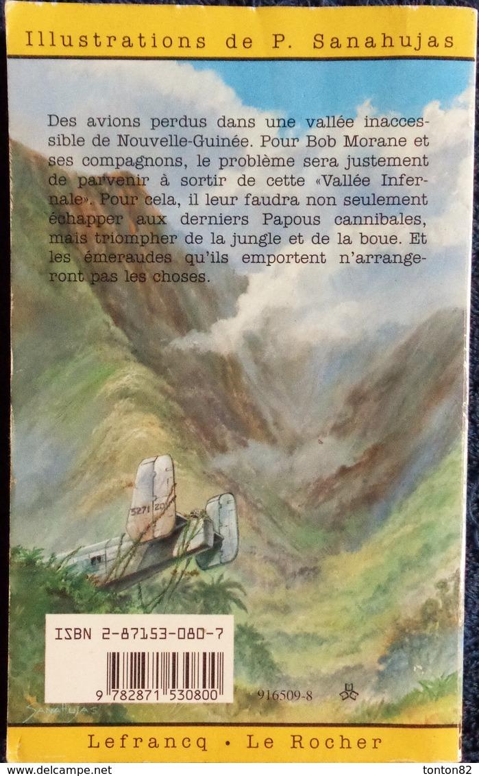 Bob Morane - La Vallée Infernale - Henri Vernes - Bob Morane Pocket N° 1 - Abenteuer