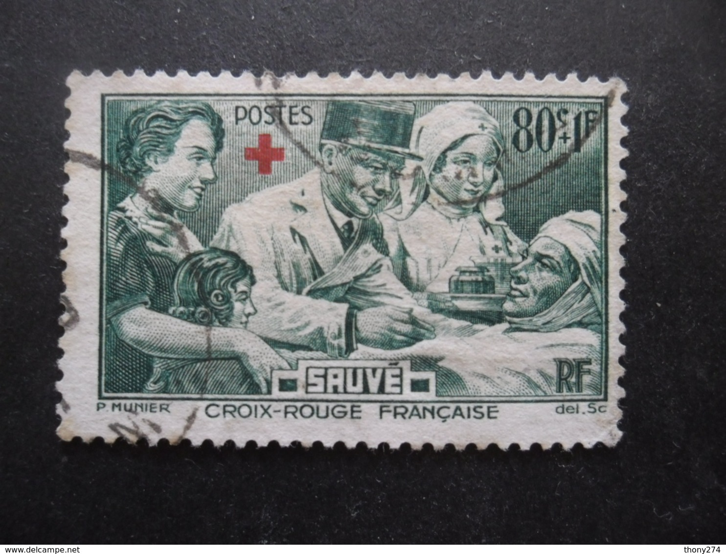 FRANCE N°459 Oblitéré - Oblitérés