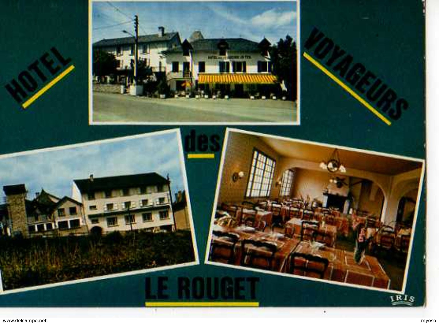 15 LE ROUGET Hotel Des Voyageurs - France