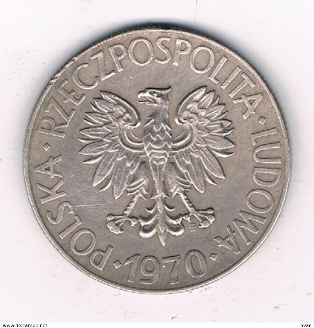 10 ZLOTY 1970  POLEN /3548/ - Poland