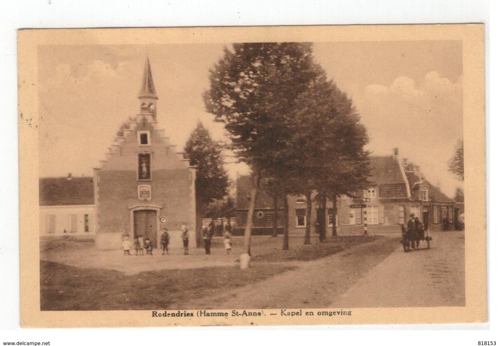 Rodendries  (Hamme St-Anne) - Kapel En Omgeving - Hamme