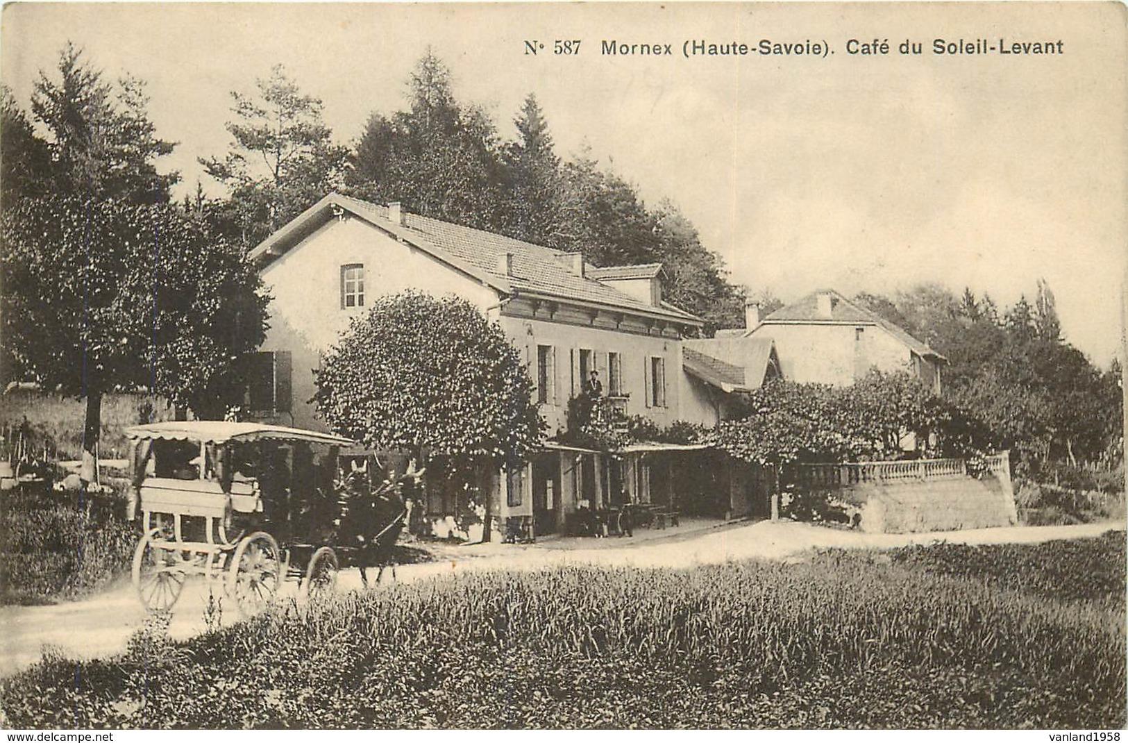 MORNEX-café Du Soleil Levant - France