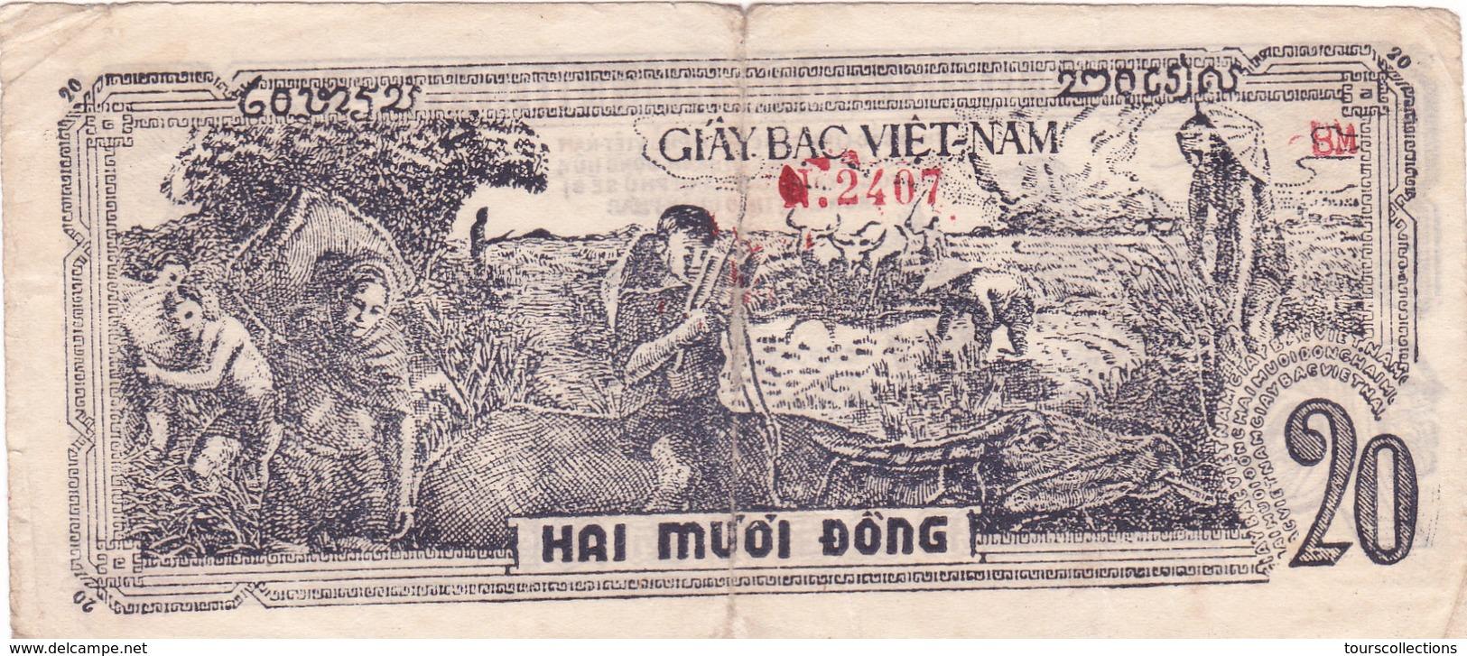 BILLET VIETNAM 20 DONG De 1948 @ PICK 26 - Vietnam