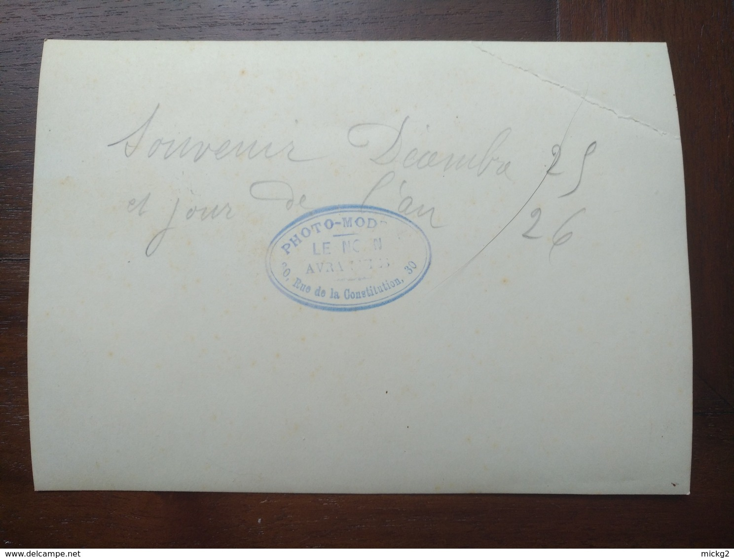 Photo Innondation Avranches Decembre 1925 - Janvier 1926 - Places