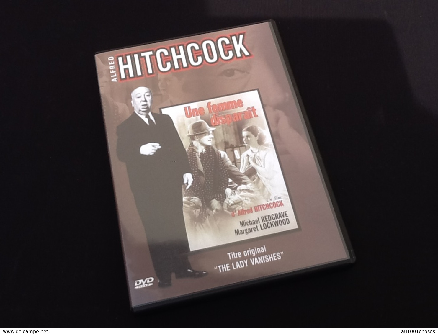 DVD   Alfred Hitchcock   Une Femme Disparaît - DVD