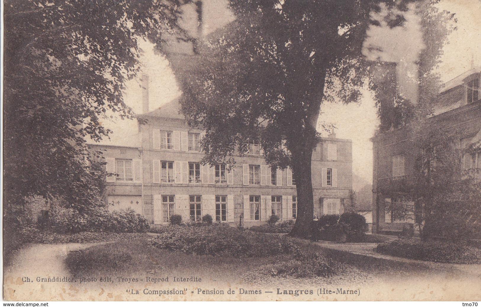 52  Haute  Marne  -  Langres  -  La  Compasssion  -  Pension  De  Dames - Langres