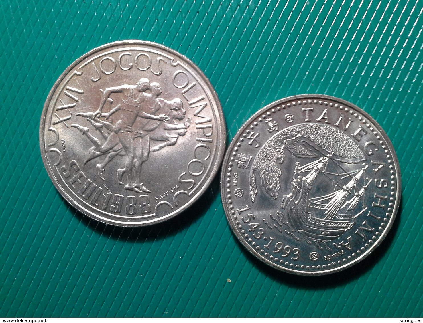 2 Moedas 200 Escudos 1993, 250 Escudos 1988 - Portugal