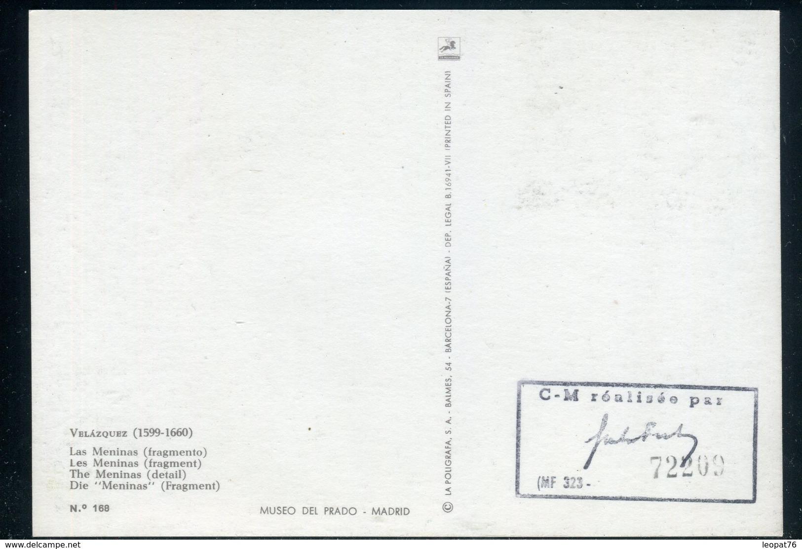 Dahomey - Carte Maximum 1971 - Oeuvre De Velazquez - Bénin – Dahomey (1960-...)