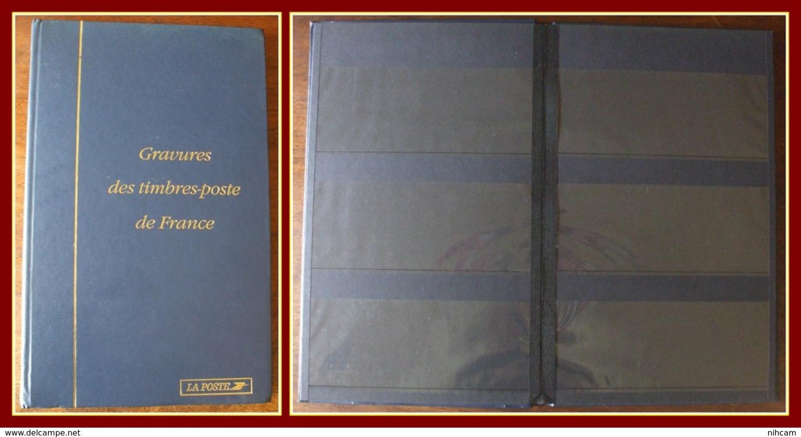 Album Pour 60 Gravures Des Timbres-poste De France (ou Bloc TP) Occasion - Classificatori
