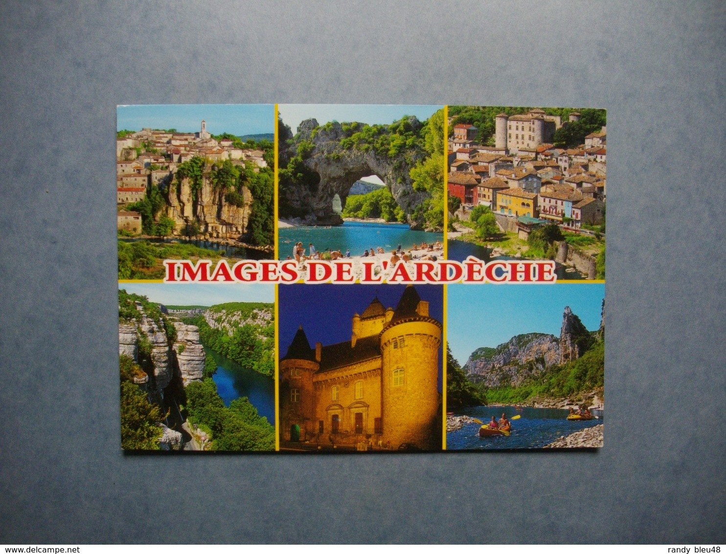 ARDECHE  -  07   -  Images De L'Ardèche  -  Multivues    -  ARDECHE - Autres Communes