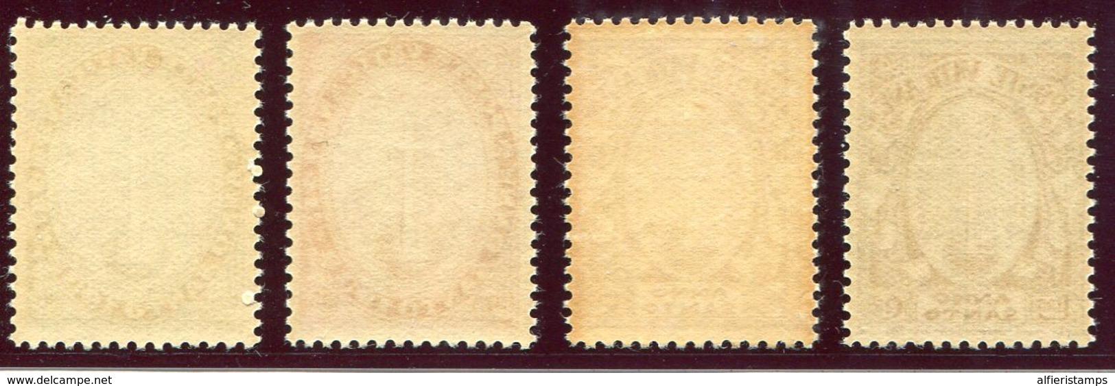 1933- VATICANO - ANNO SANTO - 4 VAL.  M.N.H. LUXE !! - Vatican