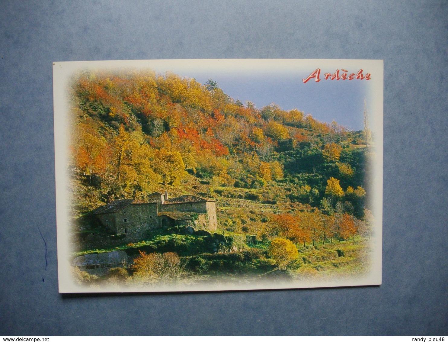 ARDECHE  -  07   -  Paysage D'Automne  -  ARDECHE - Autres Communes