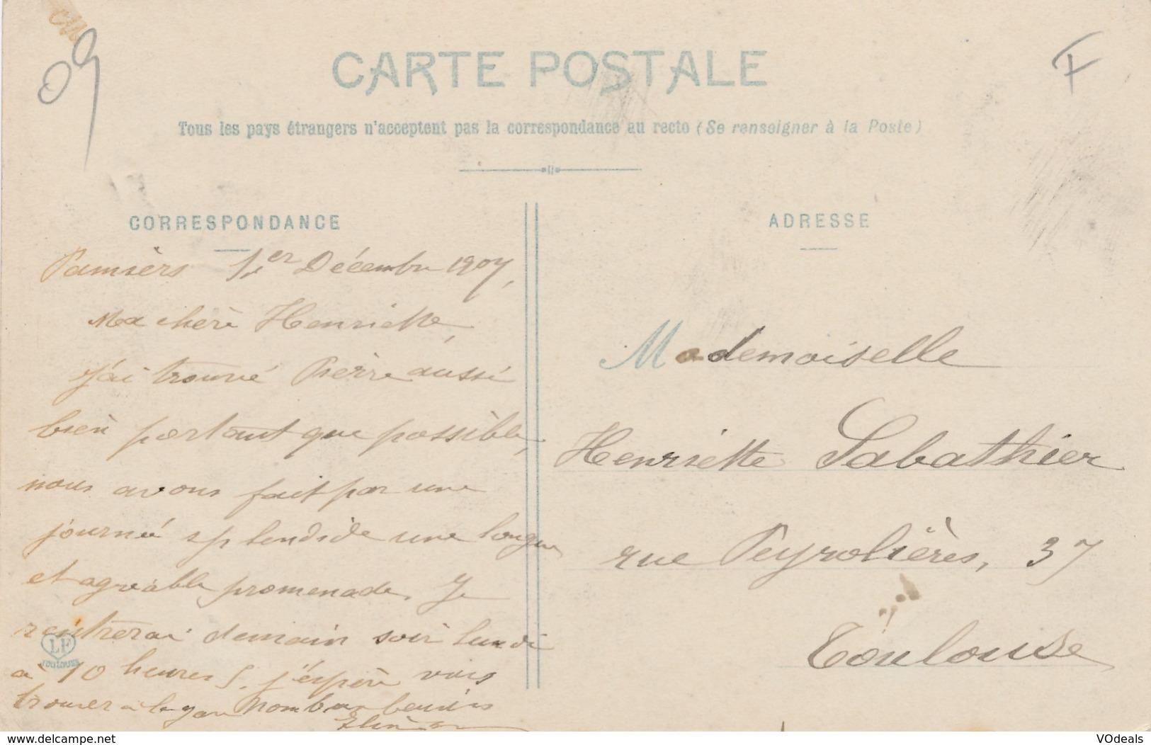 CPA - France - (09) Ariège - Pamiers - Les Usines Métallurgiques - Pamiers