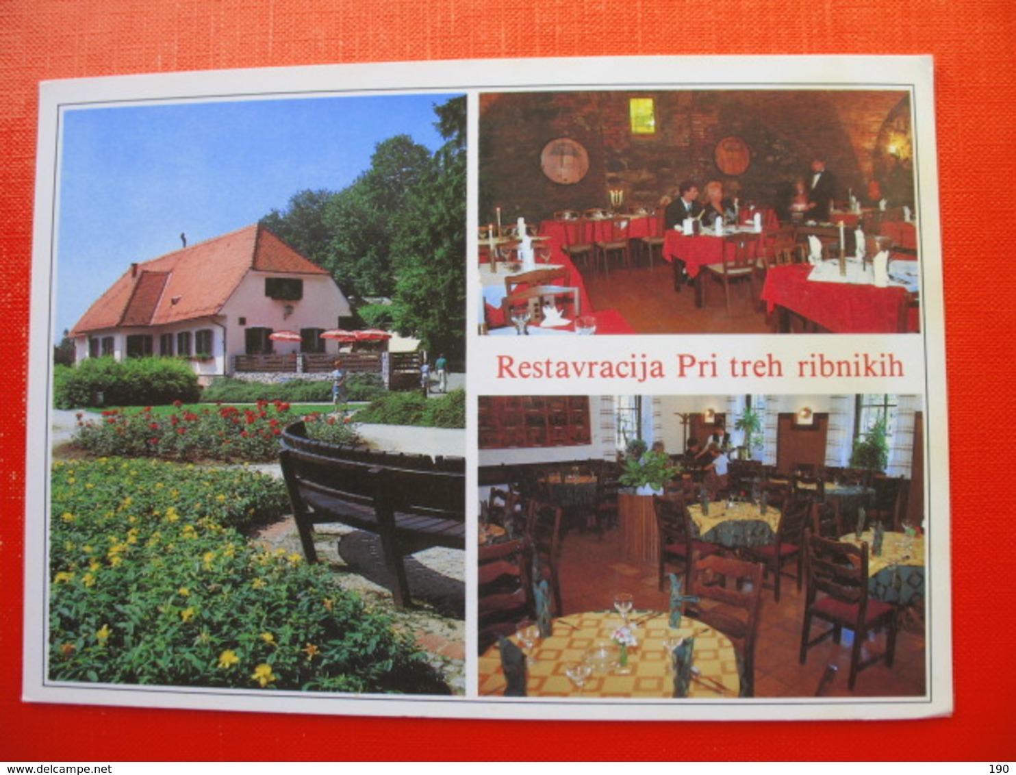 MARIBOR.Restavracija Pri Treh Ribnikih - Slovénie