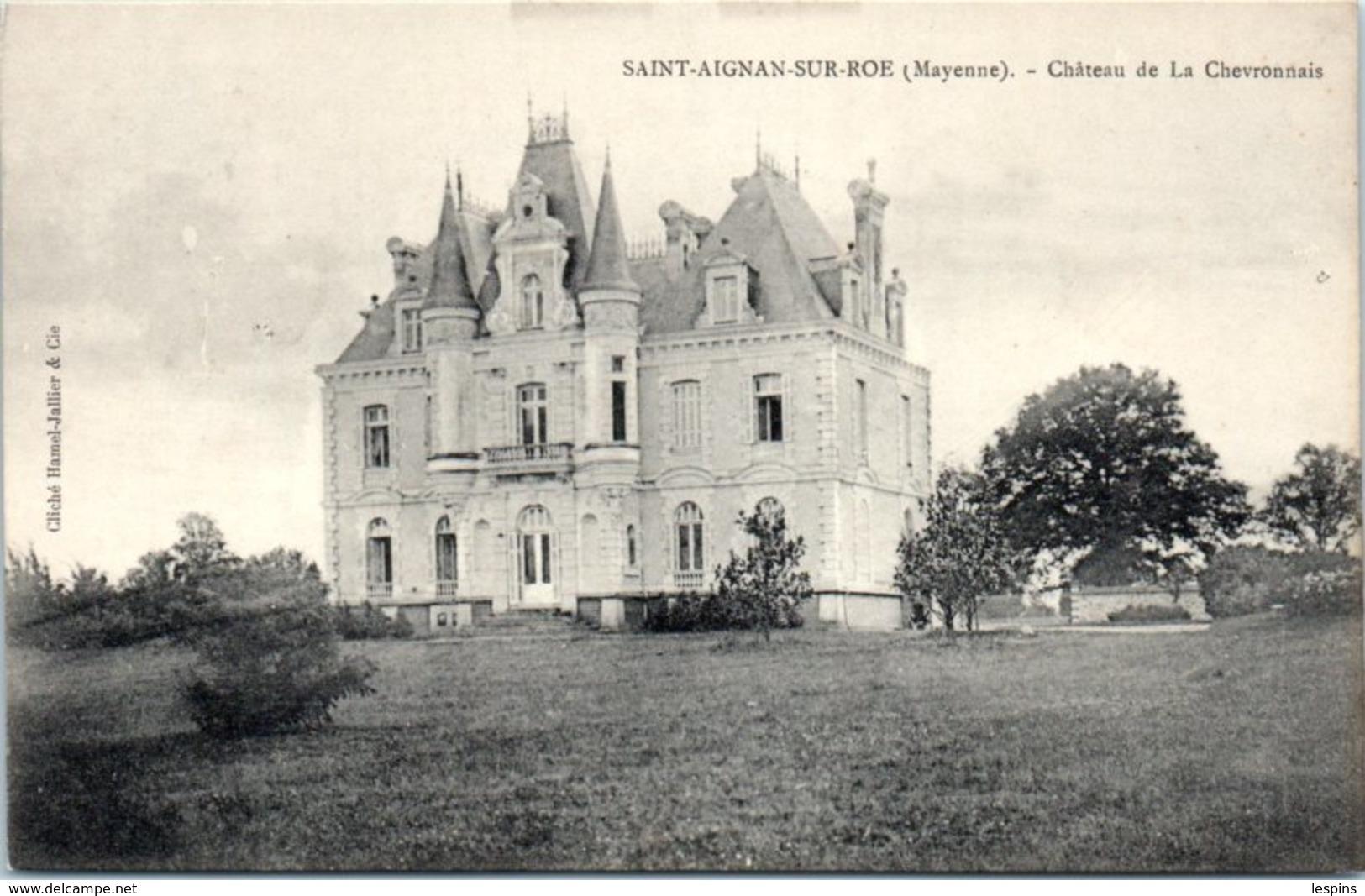 53 - SAINT AIGNAN Sur RÖE -- Château  De La Chevronnais - Saint Aignan Sur Roe