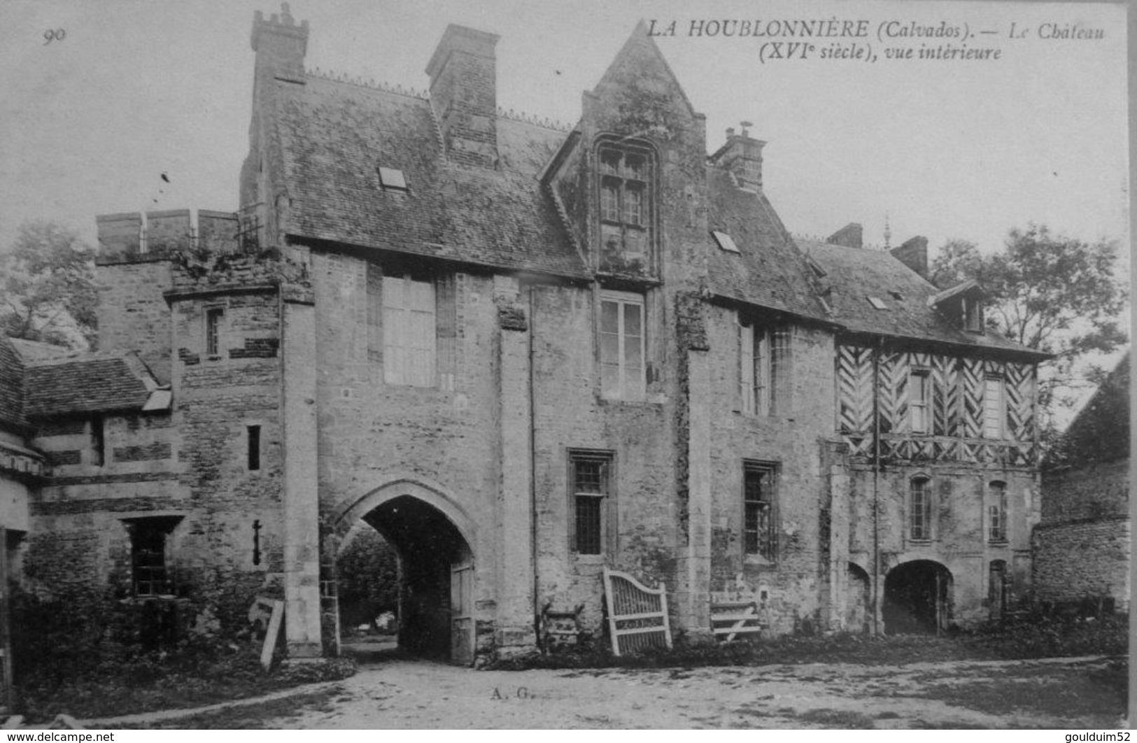 La Houblonnière : Le Chateau, Vue Intérieure - France