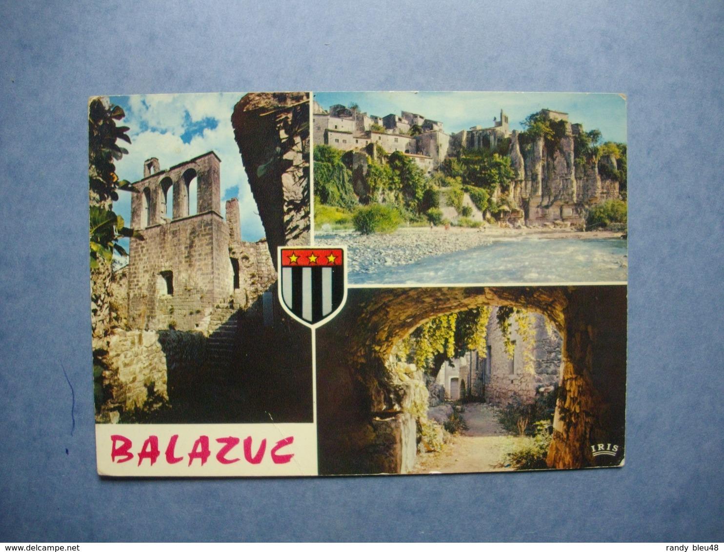 BALAZUC  -  07   -  Vieille église Romane  -  ARDECHE - Autres Communes