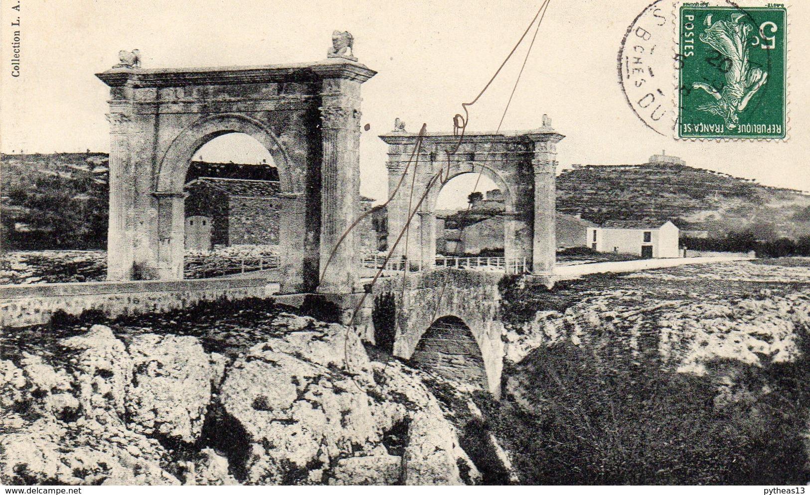 SAINT-CHAMAS - Pont Romain Sur La Touloubre - France