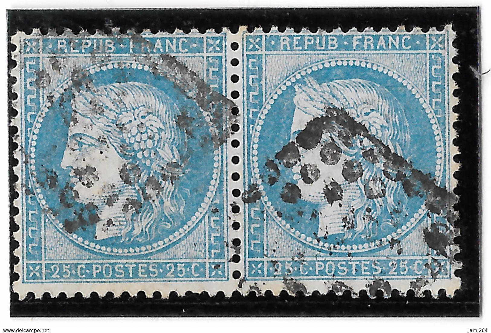 TIMBRES 60/1 ; PAIRE 117/118 G1 TTB - 1871-1875 Cérès