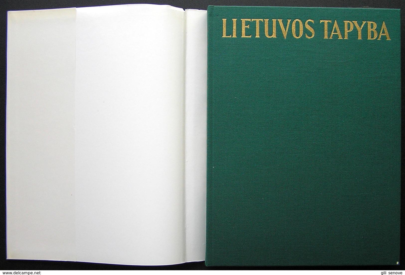Lithuanian Book / Lithuanian Painting Lietuvos Tapyba Album 1983 - Kultur
