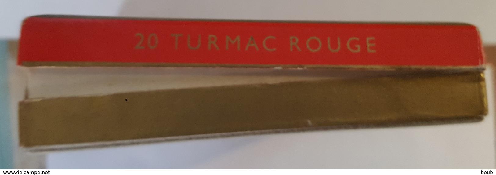 D - Paquet De Cigarettes Turmac Rouge - Vide (4 Scans) - Boites à Tabac Vides