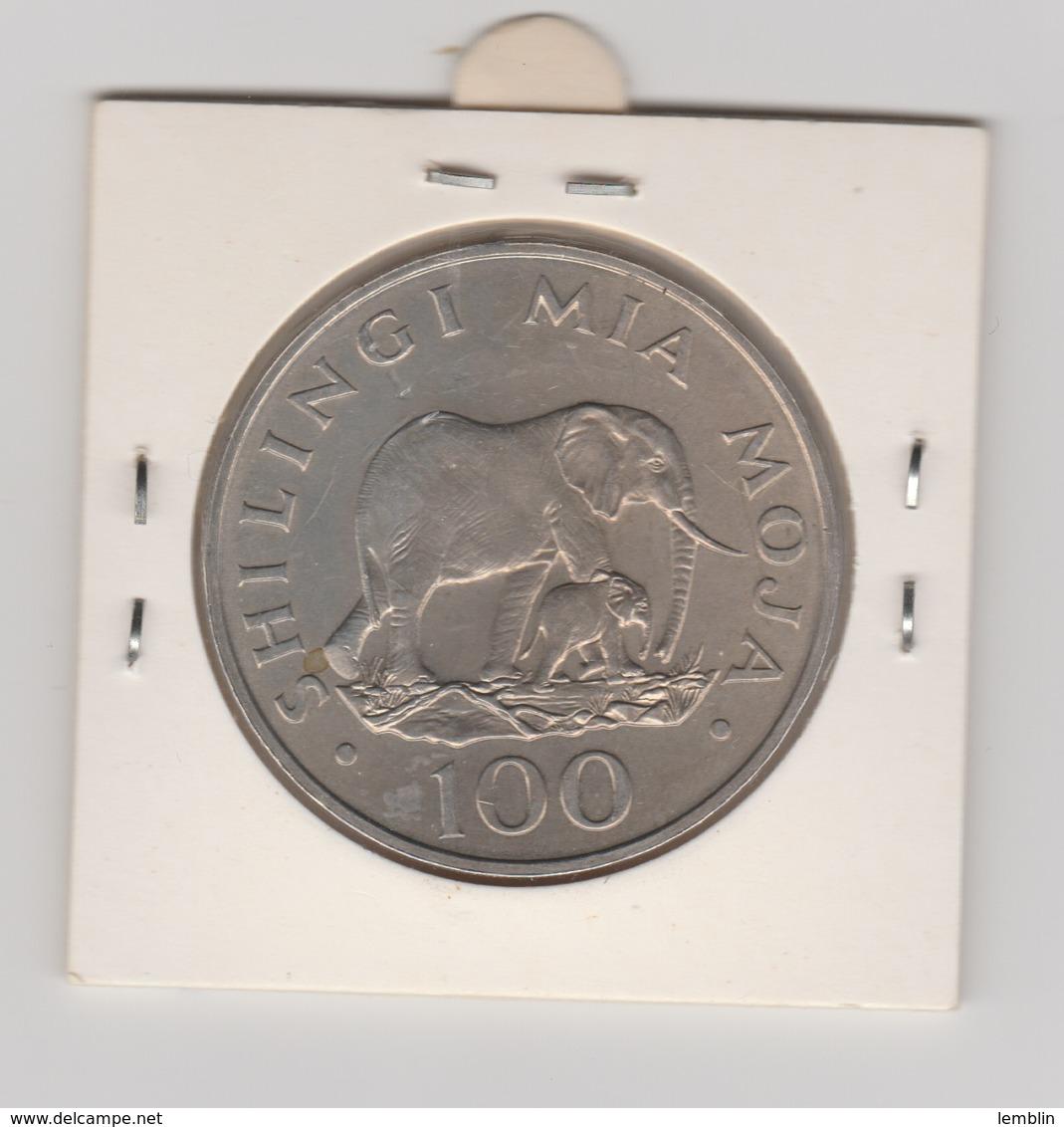 100 SHILLINGS 1985 - Tanzania
