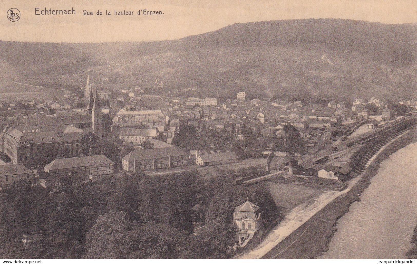 Echternach Vue De La Hauteur D Ernzen - Echternach