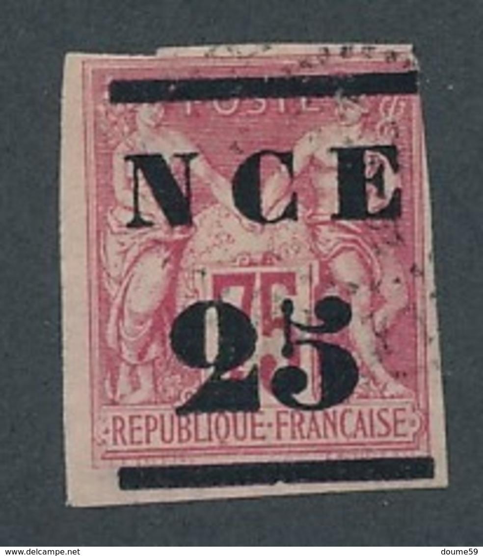 CR-74: Nelle CALEDONIE: Lot  Avec N°5 Obl (1 Coin Touché, Pas De Clair) - Nouvelle-Calédonie