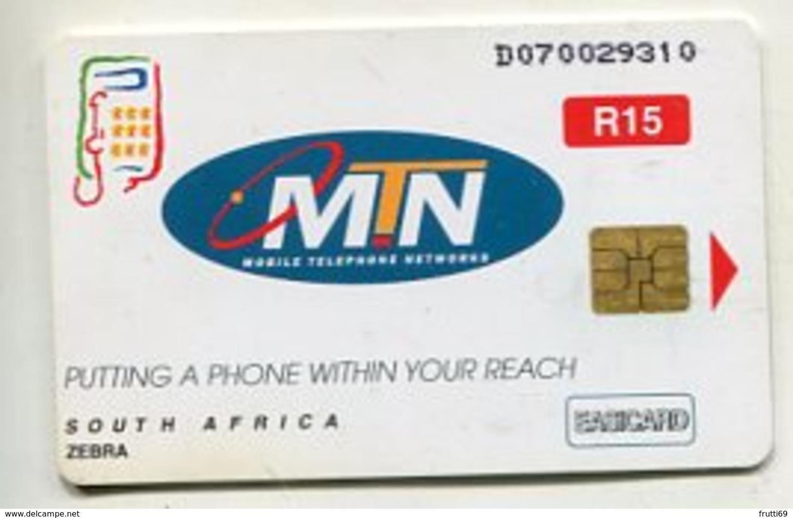 TK 04304 SOUTH AFRICA - Chip MTN - Zuid-Afrika