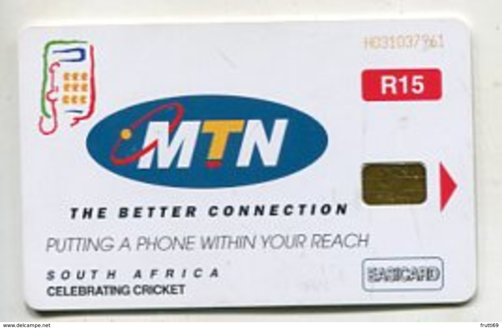 TK 04312 SOUTH AFRICA - Chip MTN - Zuid-Afrika
