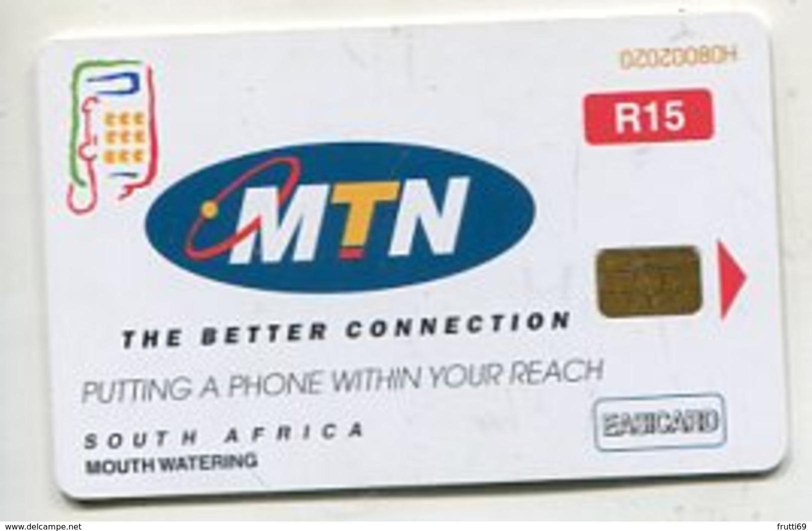 TK 04320 SOUTH AFRICA - Chip MTN - Zuid-Afrika
