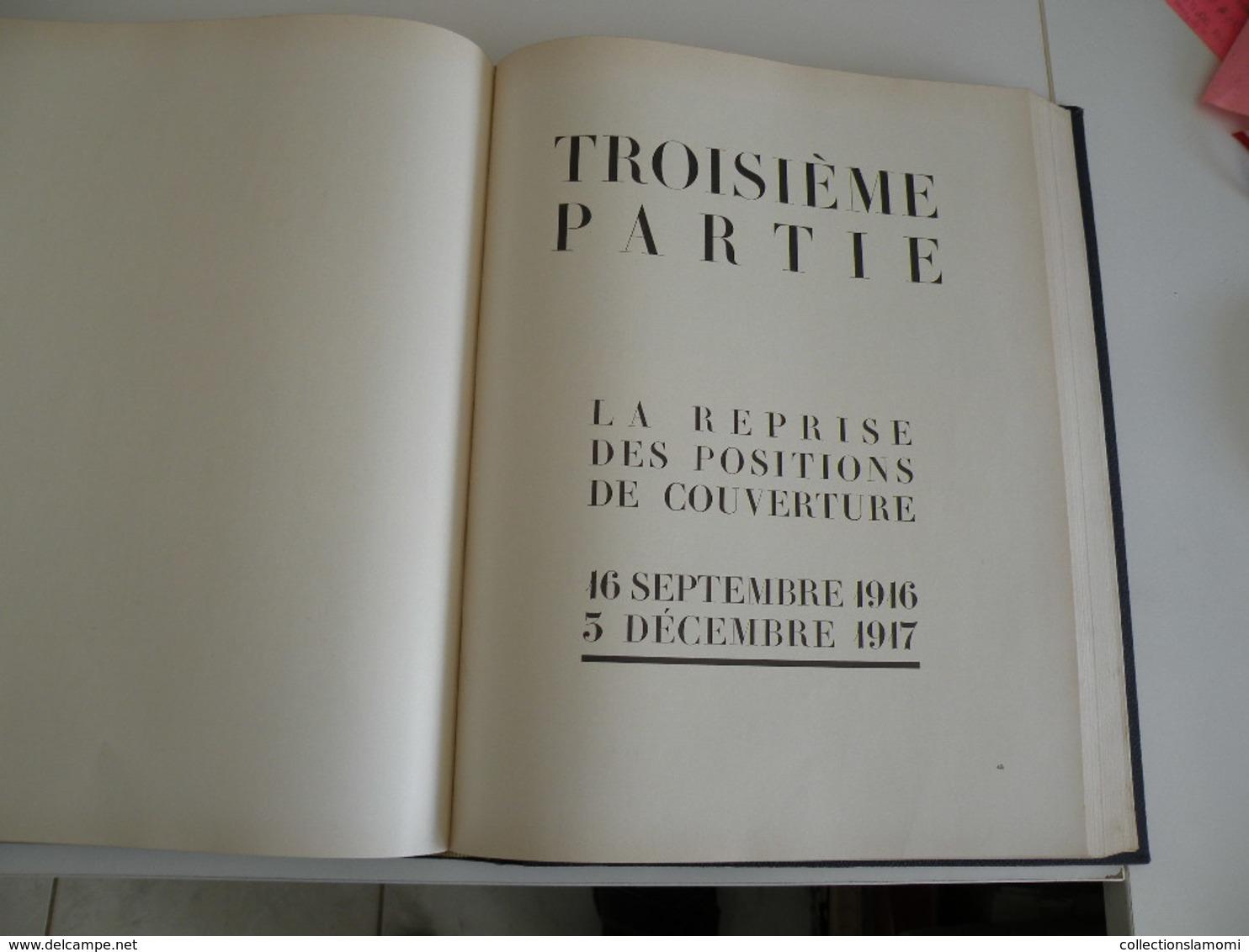 Verdun 1914-1918 Collaboration De Plusieurs Anciens Combattants Des 2 Côtés (1934 De J. Péricard) - War 1914-18
