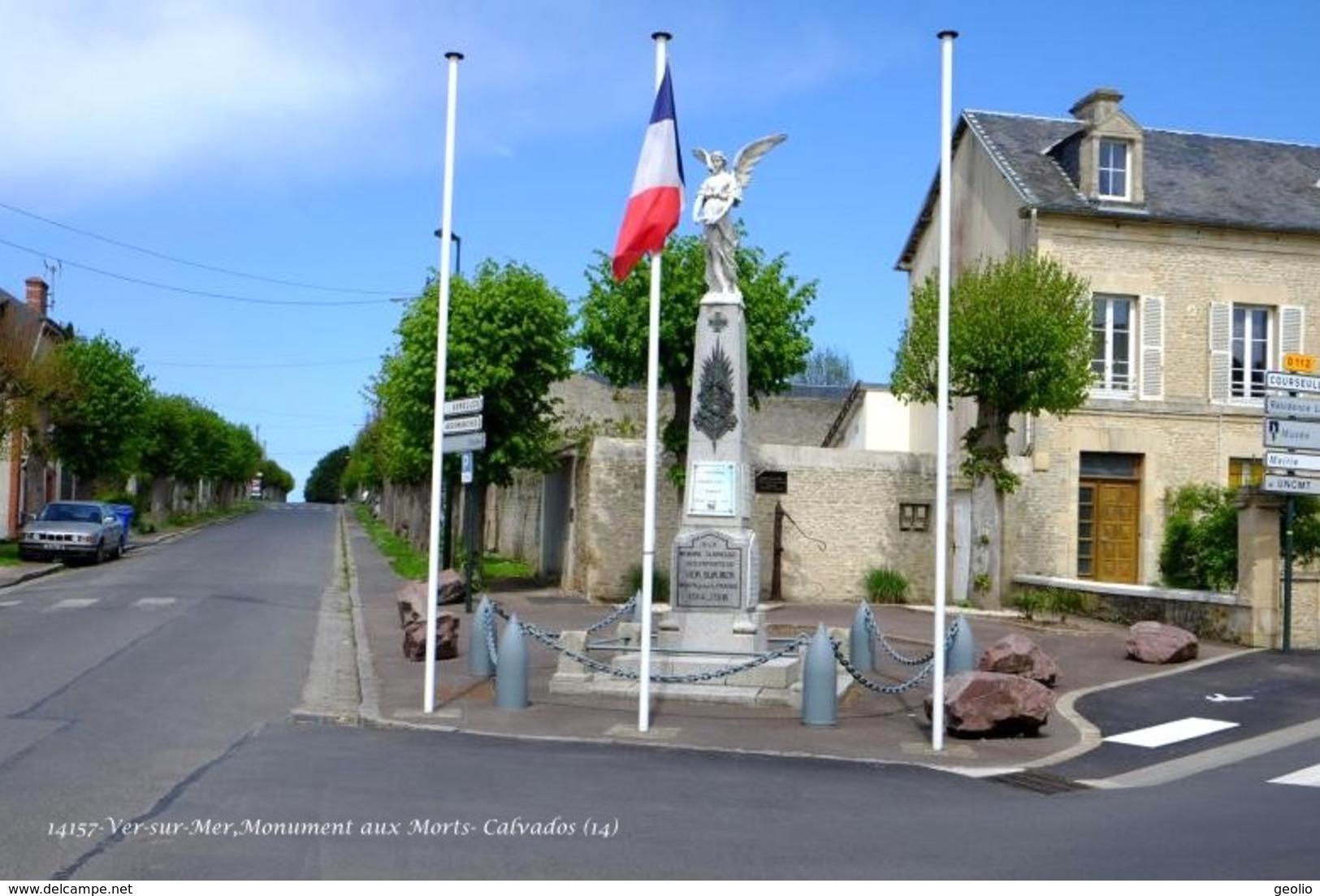 Ver-sur-Mer (14)- Monument Aux Morts (Edition à Tirage Limité) - France