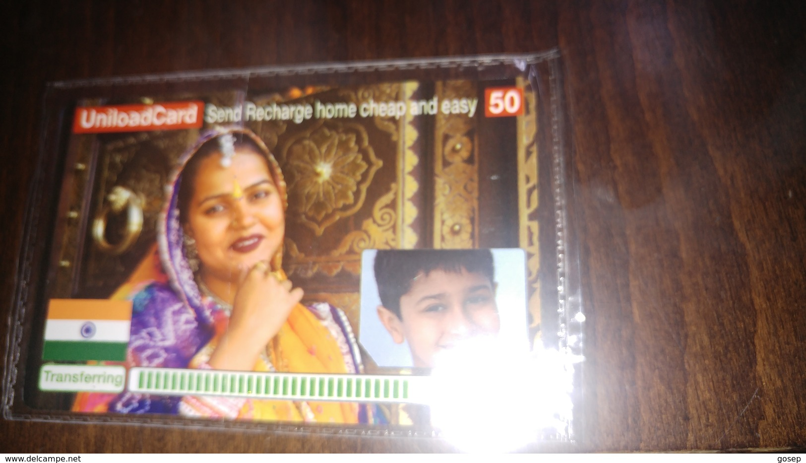 Israel-uniload Card Send Recharge Home Cheap And Easy-50-mint Card+1card Prepiad Free - India