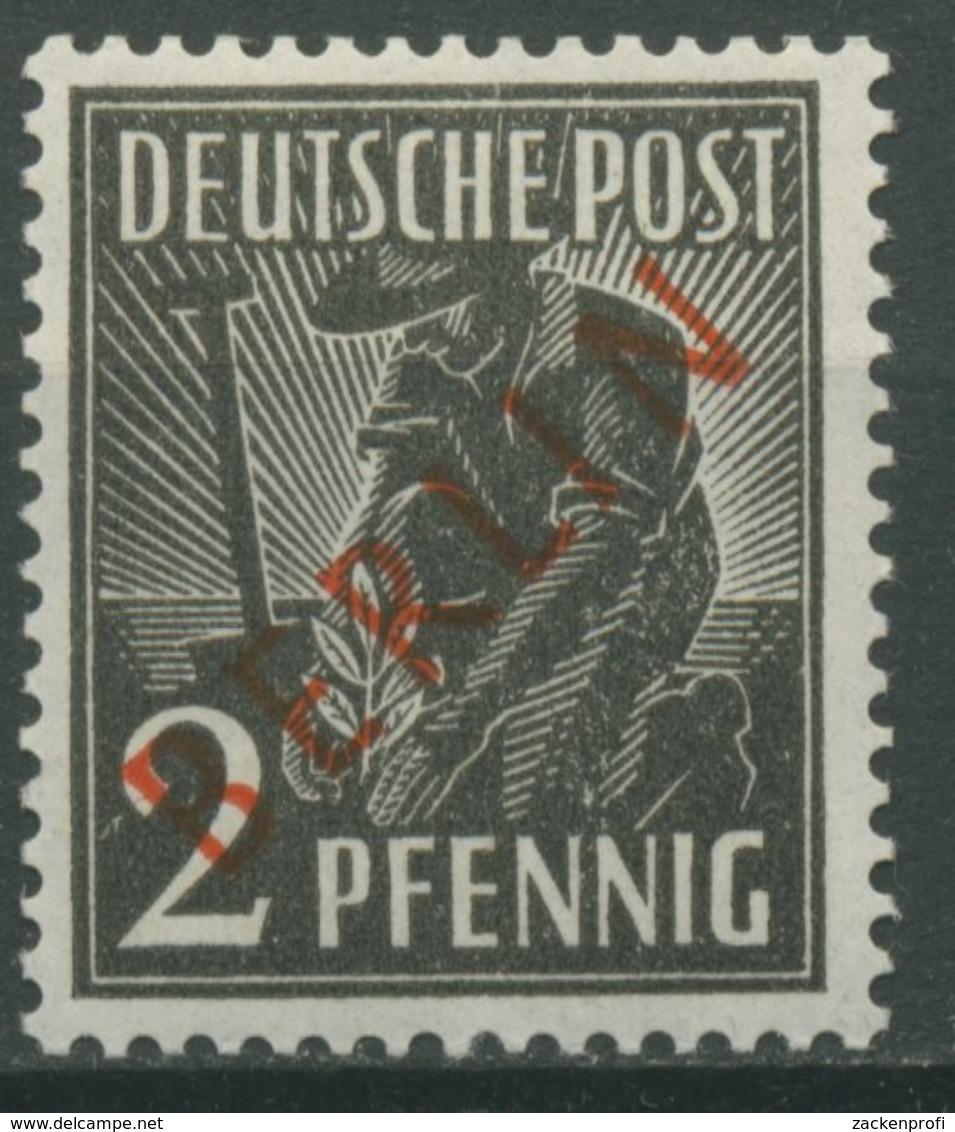 Berlin 1949 Rotaufdruck 21 Postfrisch - Ungebraucht