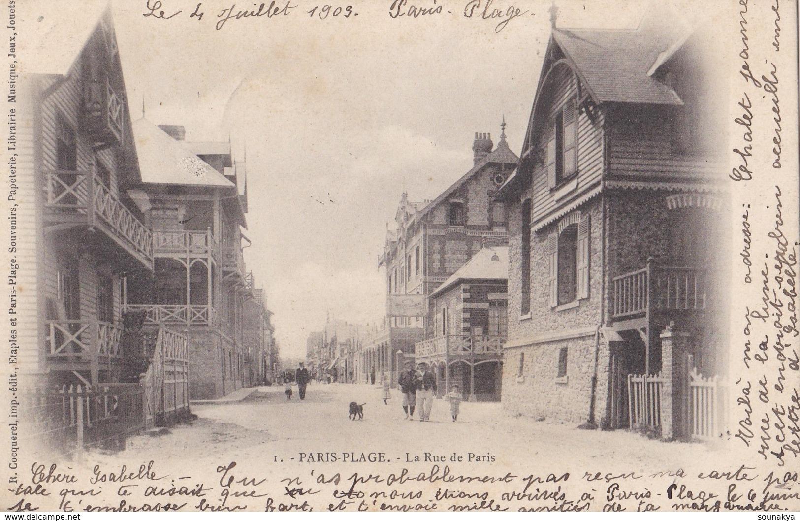 LE TOUQUET // La Rue De Paris - Le Touquet
