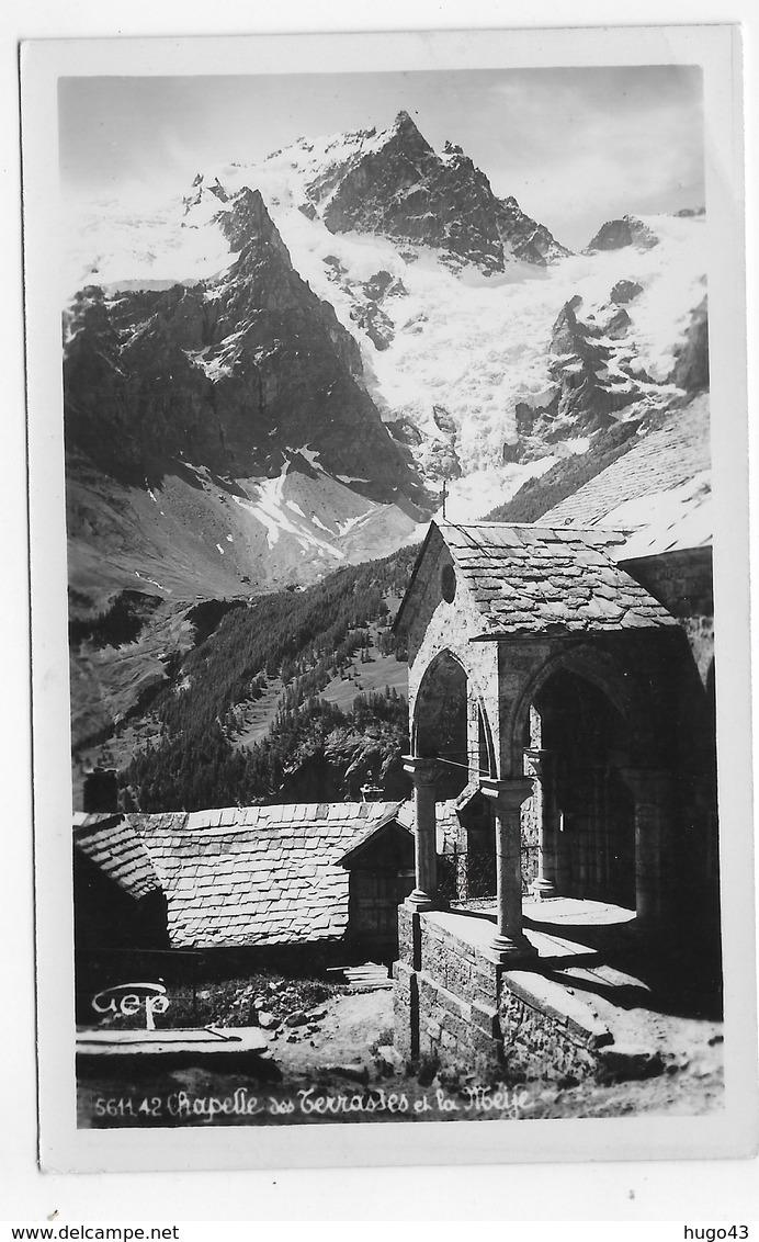 (RECTO / VERSO) LA CHAPELLE DES TERRASSES ET LA MEIJE - N° 5611.42 - Ed. GEP - CARTE PHOTO FORMAT CPA NON VOYAGEE - France