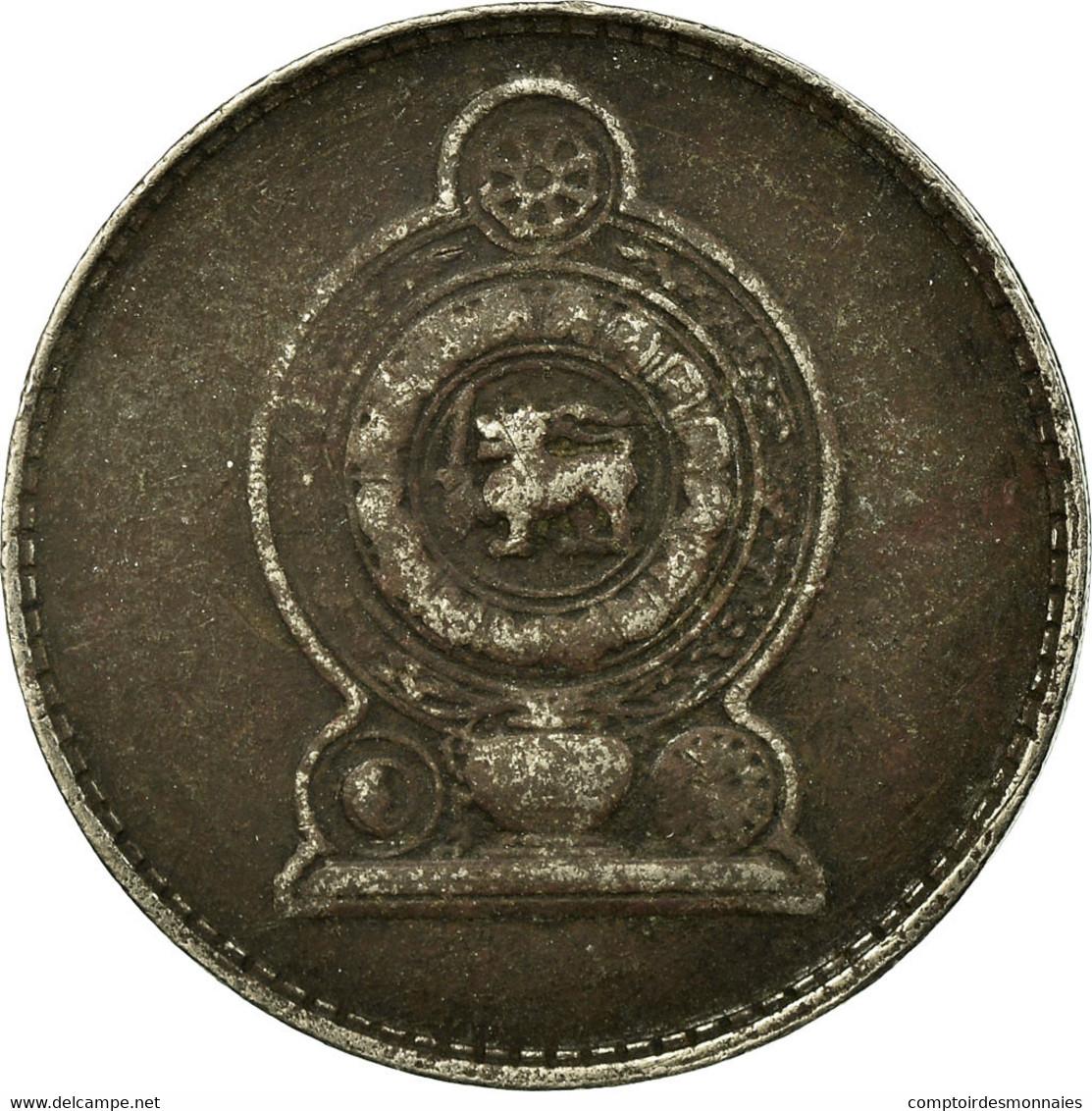 Monnaie, Sri Lanka, Rupee, 1978, TB, Copper-nickel, KM:136.1 - Sri Lanka