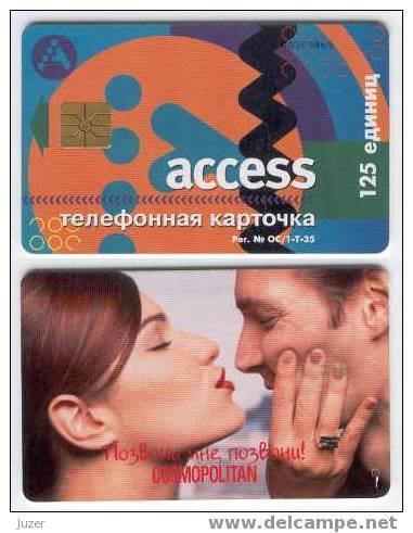 Russia. Moscow. Access: COSMOPOLITAN (2) - Russia