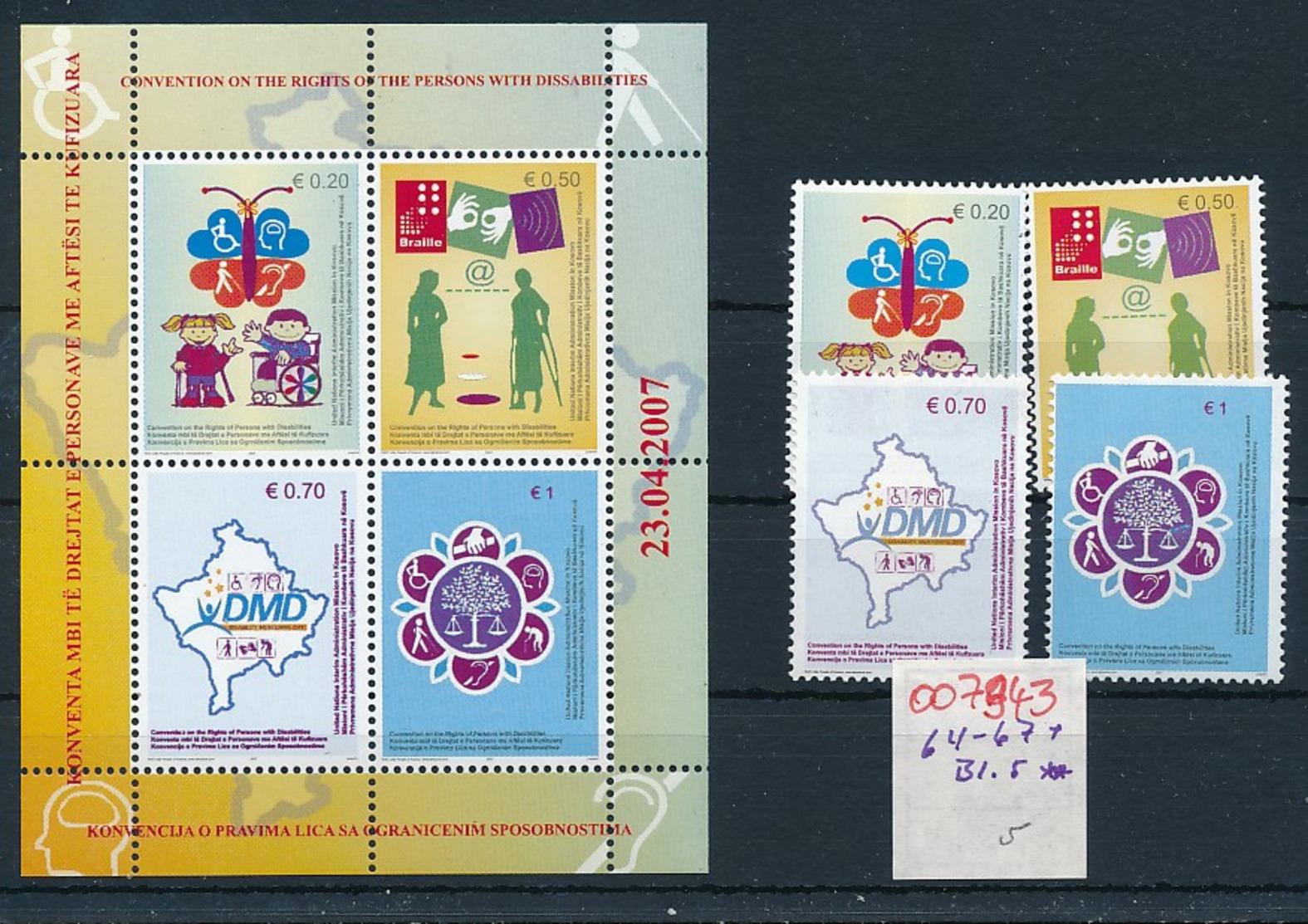 Kosovo Nr. Block  5 + Satz   **    (oo7943  ) Siehe Scan - Kosovo