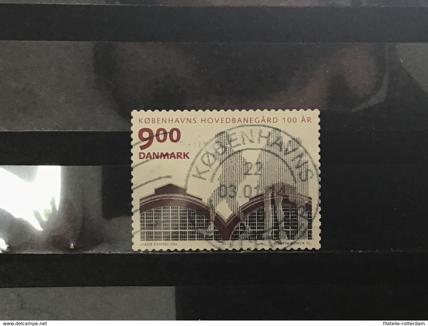 Denemarken / Denmark - 100 Jaar Station Kopenhagen (9) 2011 - Used Stamps